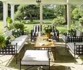 small outdoor entertaining areas