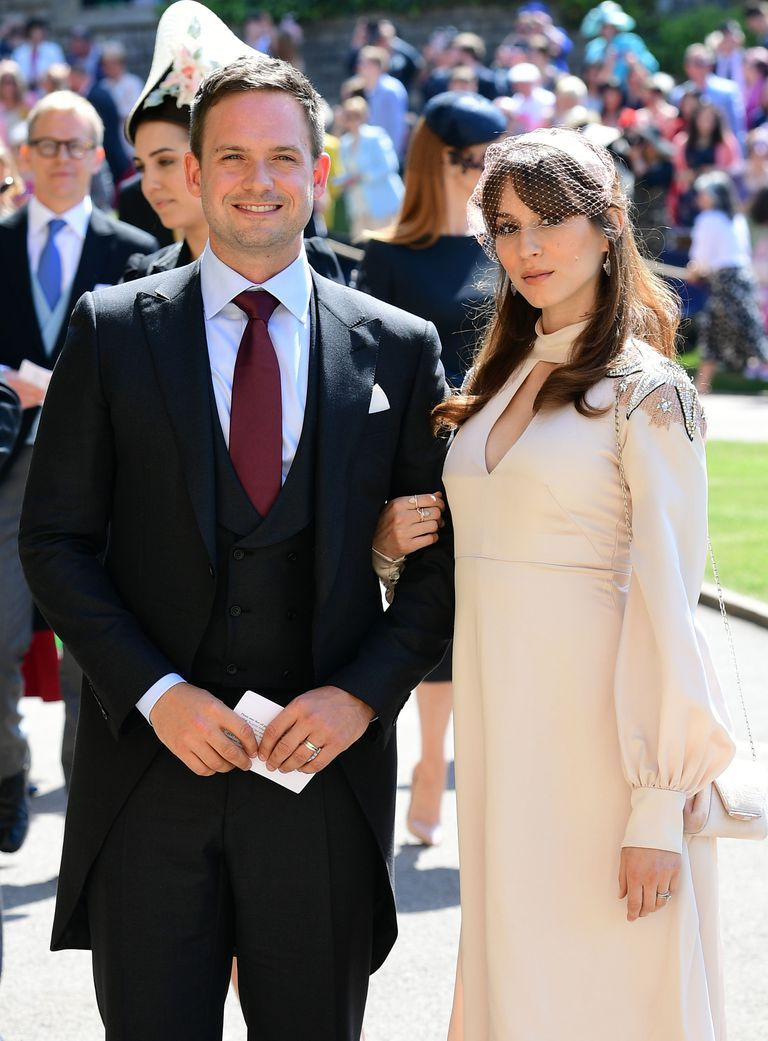 The Suits Cast at the Royal Wedding  Gabriel Macht