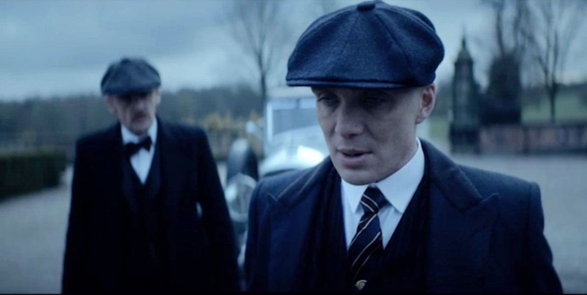 Thomas Shelby and Arthur Shelby in Peaky Blinders
