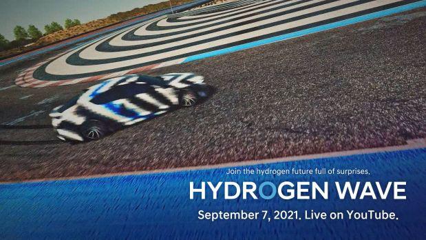 Hyundai Hints at Upcoming Hydrogen-Powered Sports Sedan