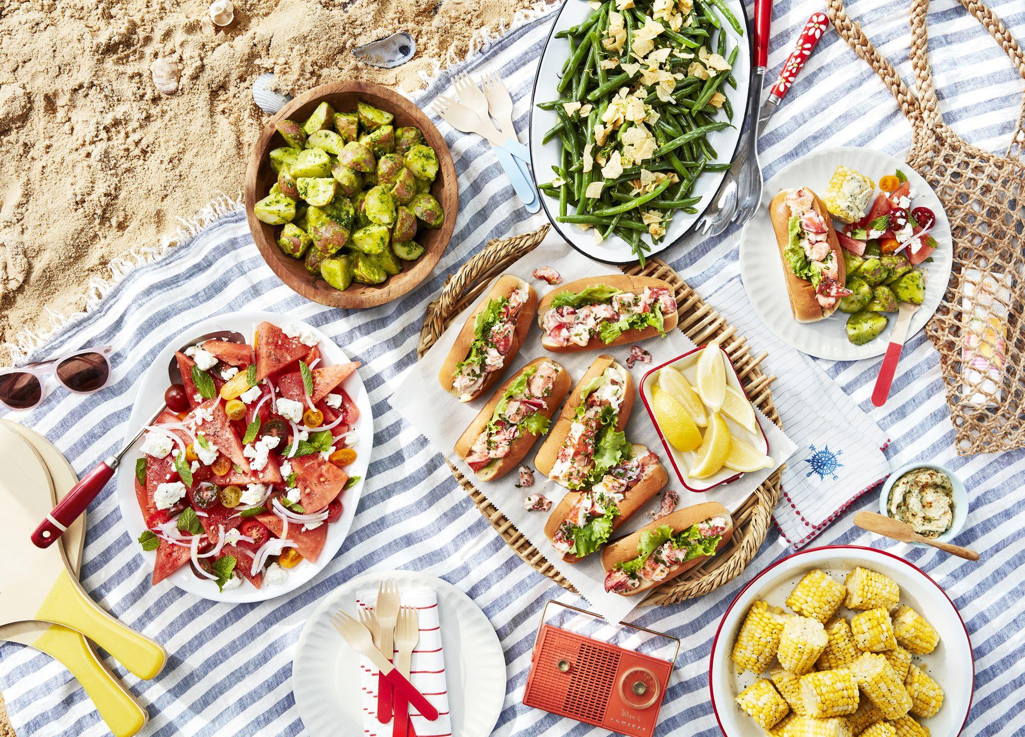 88 summer picnic food