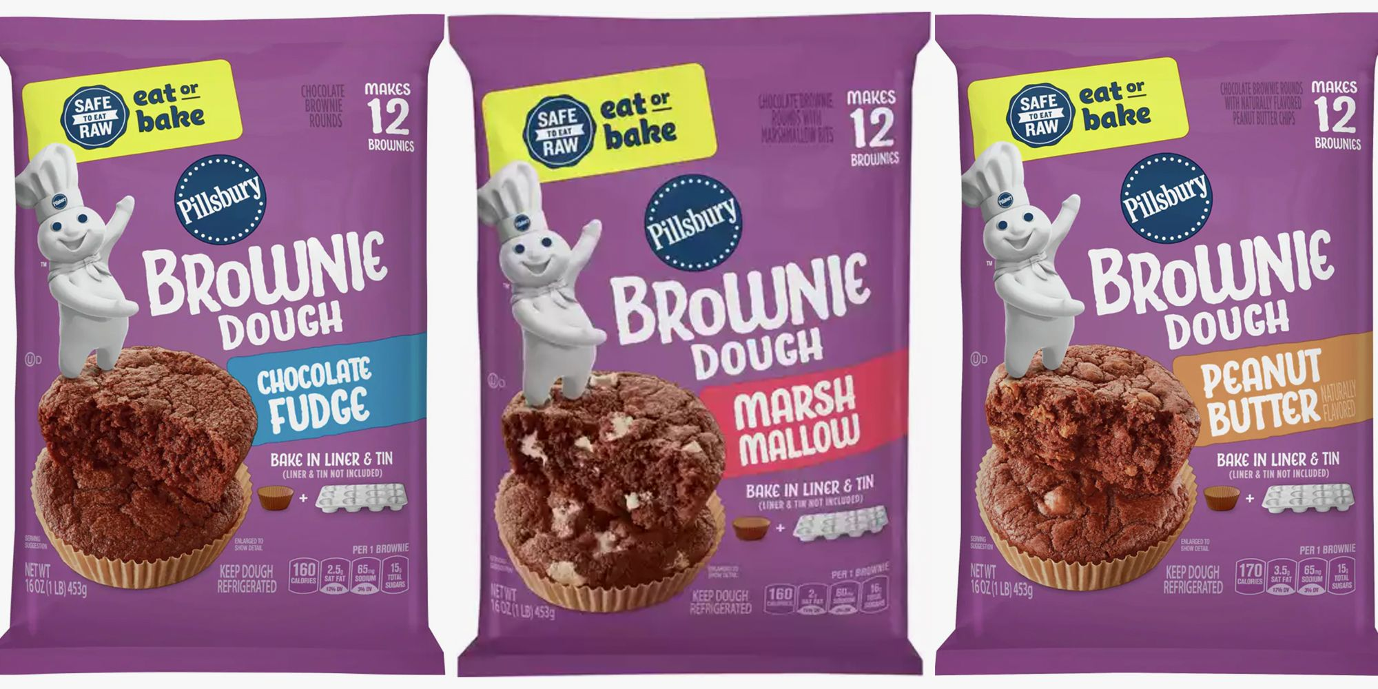 Pillsbury Has New Brownie Dough That's Protected to Eat