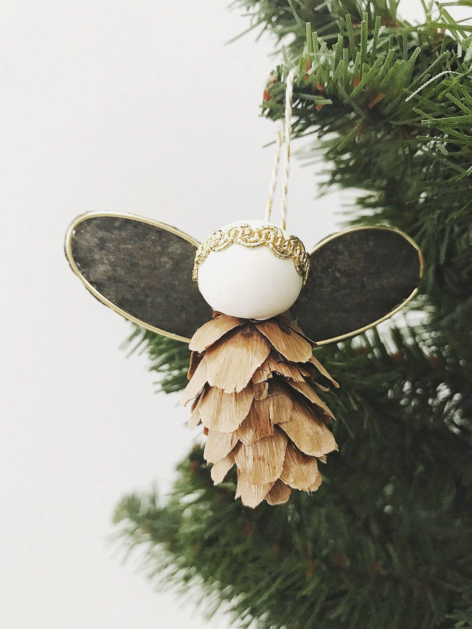 15 DIY Angel Ornaments  Easy Angel Christmas Ornament Ideas