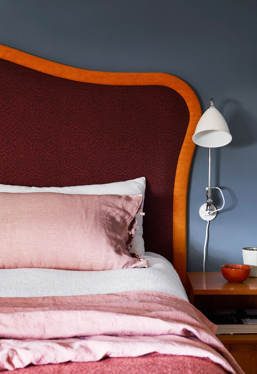 21 chic pink and gray bedrooms