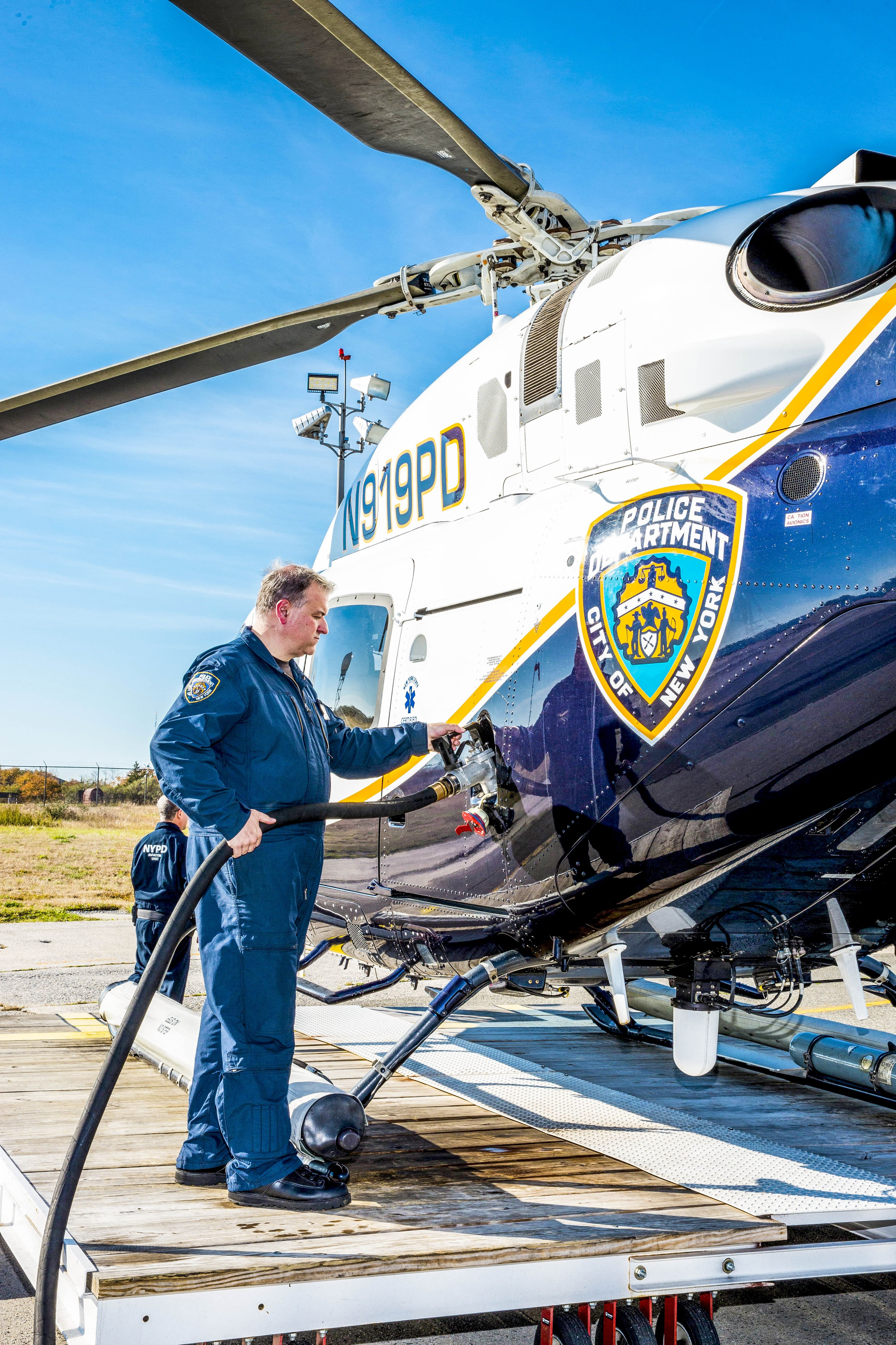 NYPD Crew Meet the Mechanics Who Keep Police Cars Boats and Helicopters Alive