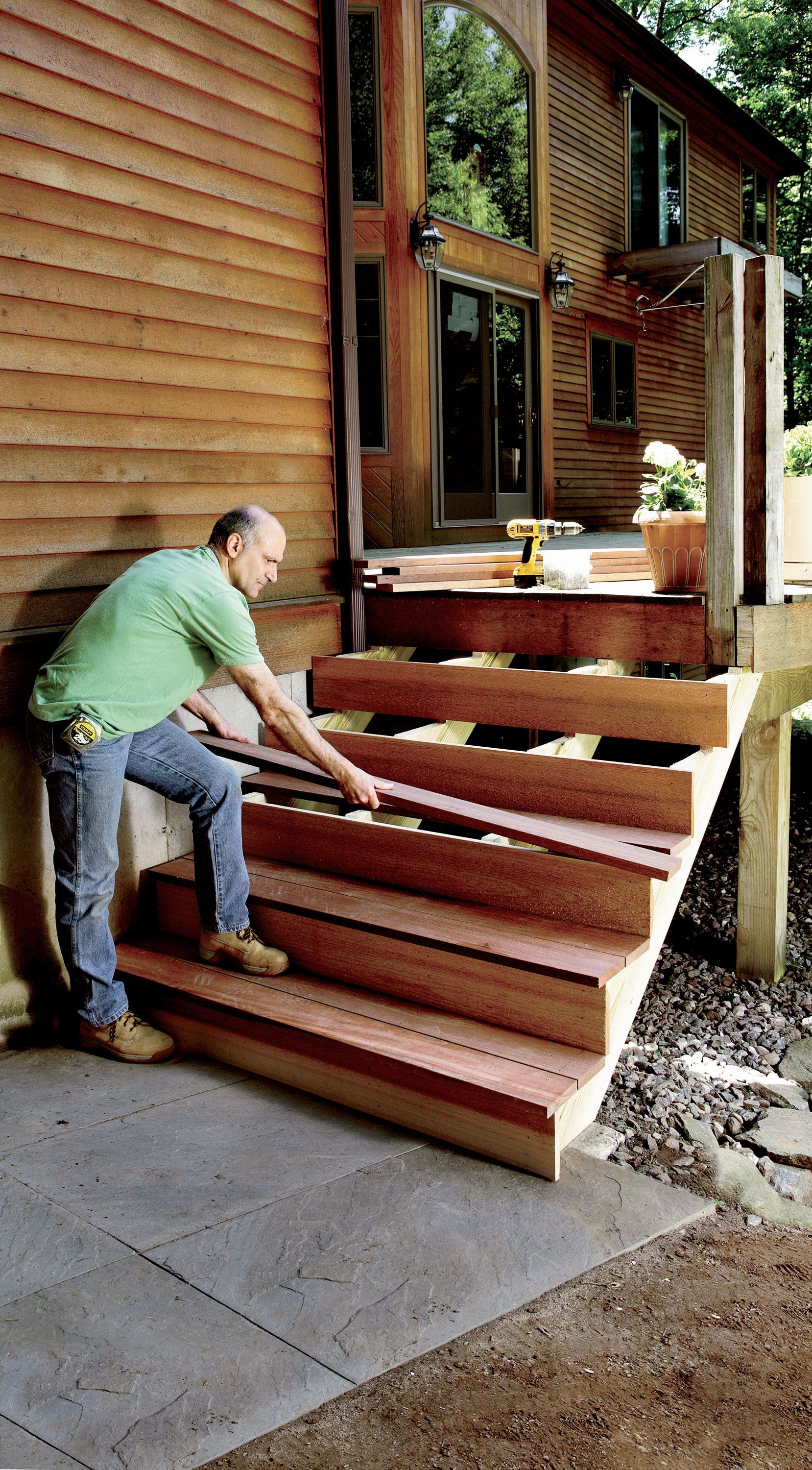 How To Build Stairs Stairs Design Plans | Outdoor Steps Design For House | Deck | Beautiful | Unique Outdoor | Brick | Farm House Wide Front Porch