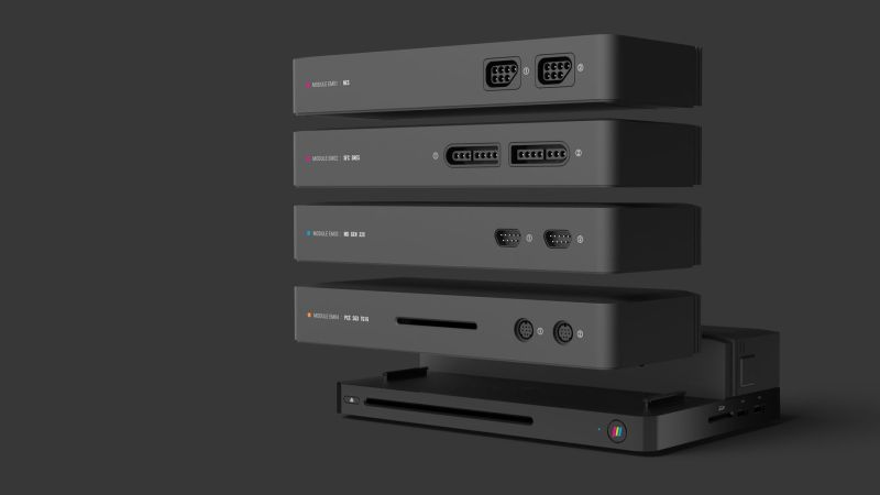 You Can Play All Your Favorite Retro Video Games on This Single System 1