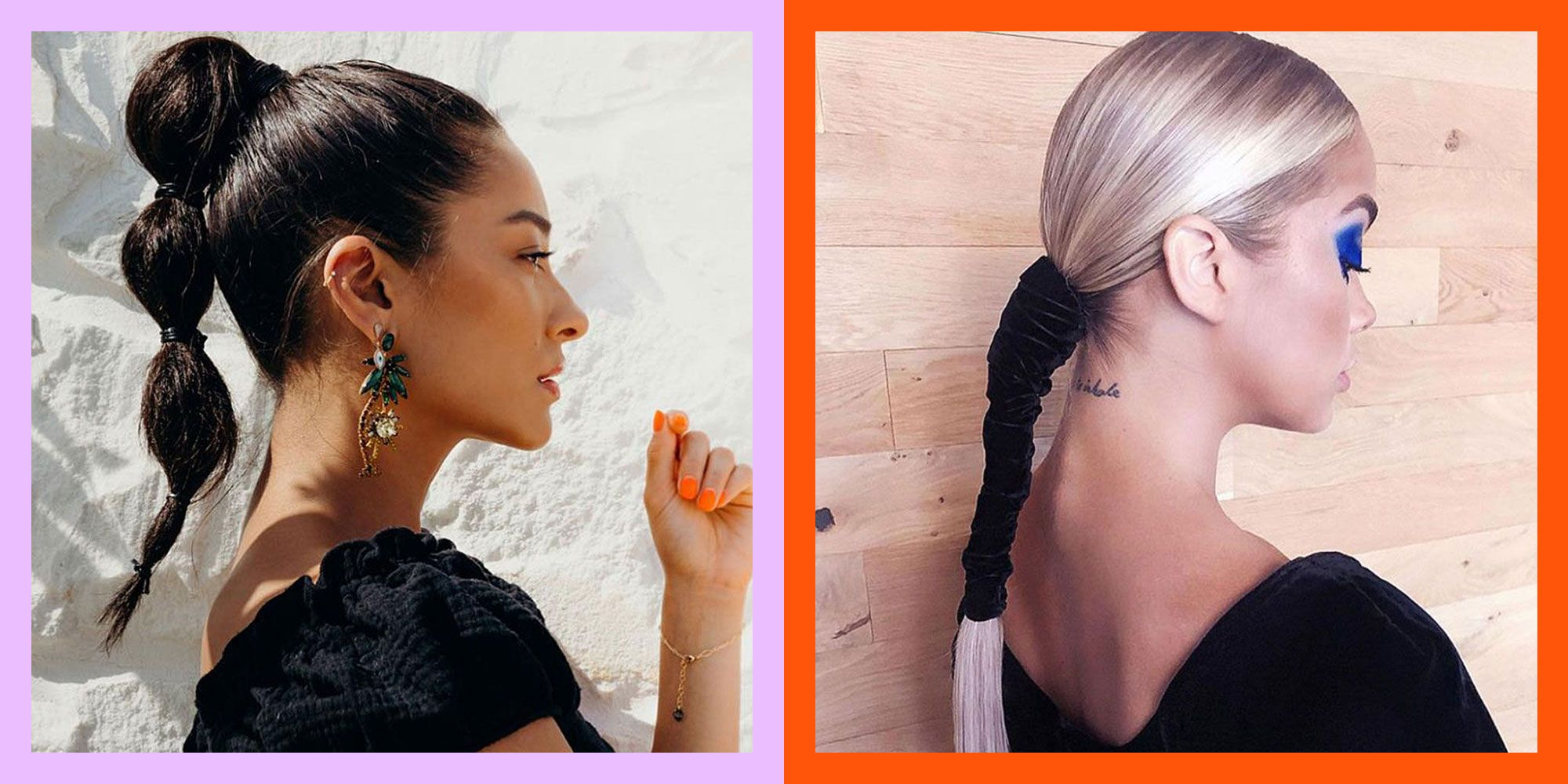 27 Ponytail Hairstyles And Ideas For 2020 Easy Ponytail Tutorials