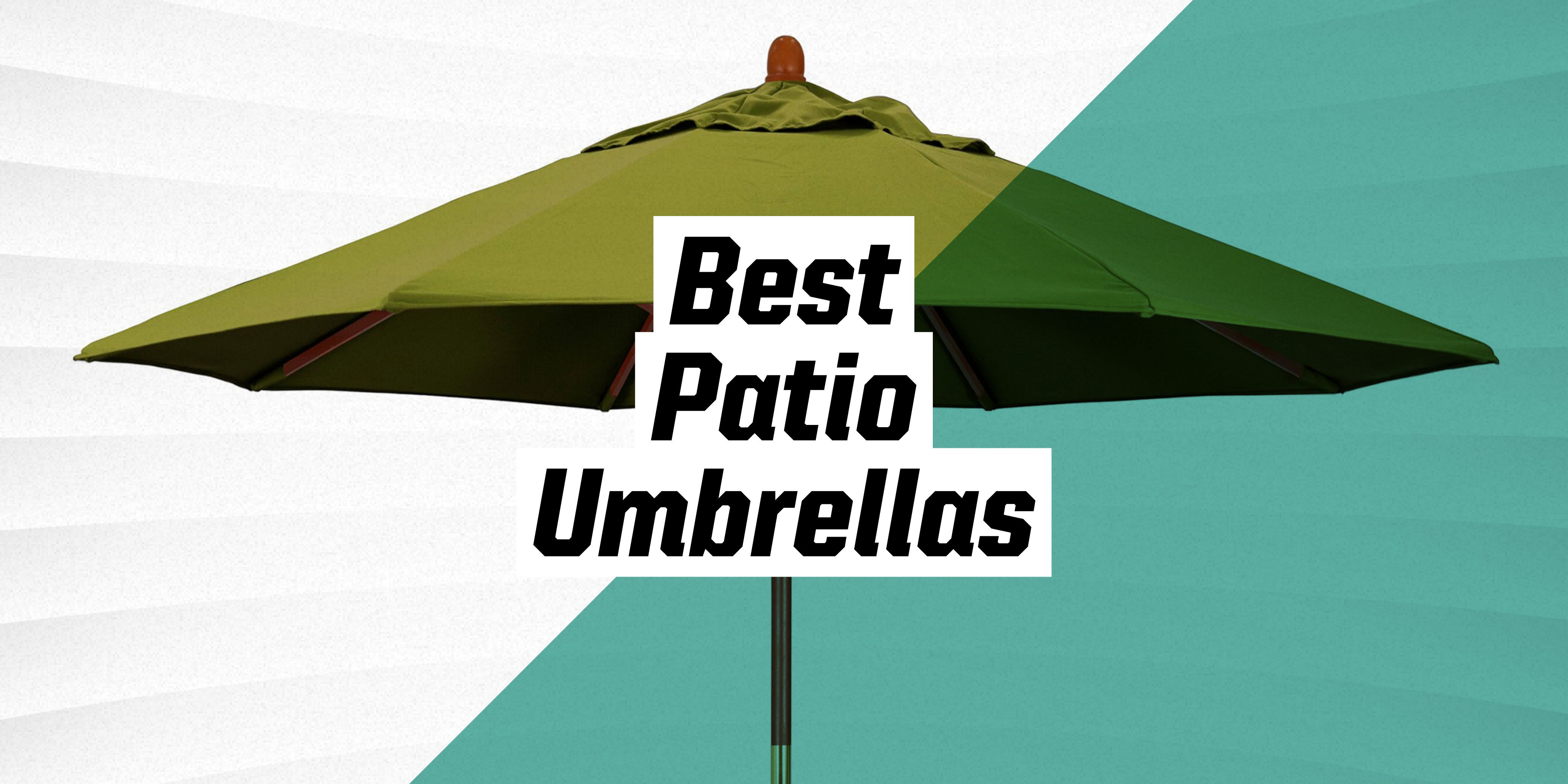 make the most of your outdoor space with these top rated patio umbrellas