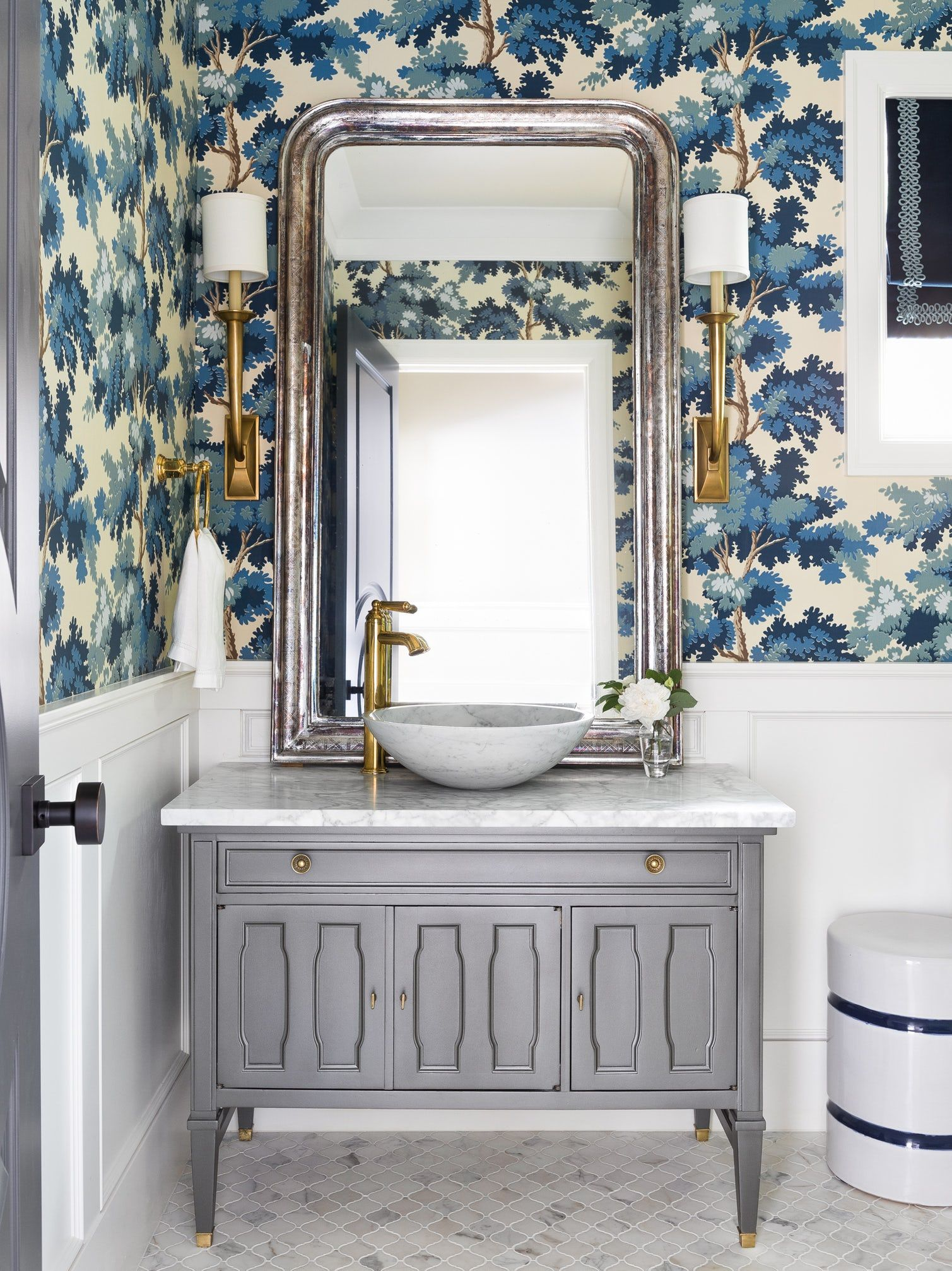 40 stunning powder room ideas half