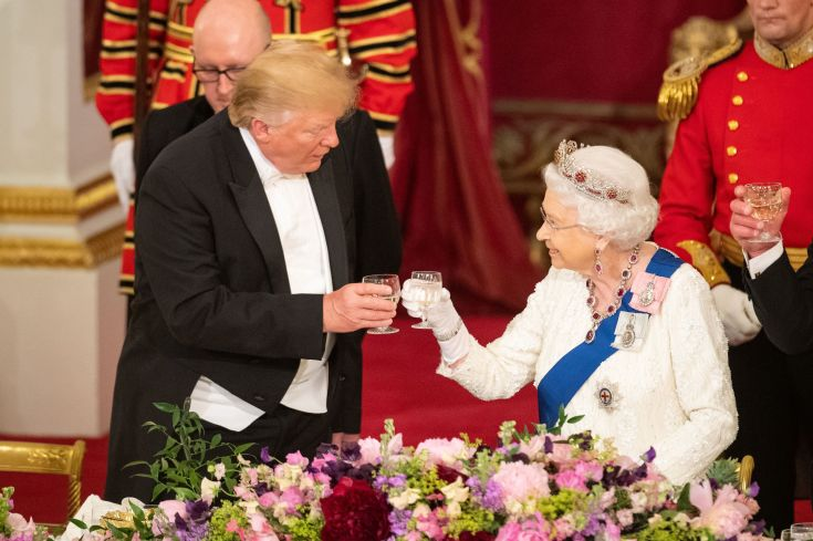 Queen Elizabeth Spoke with Donald Trump Ahead of the 4th of July Holiday