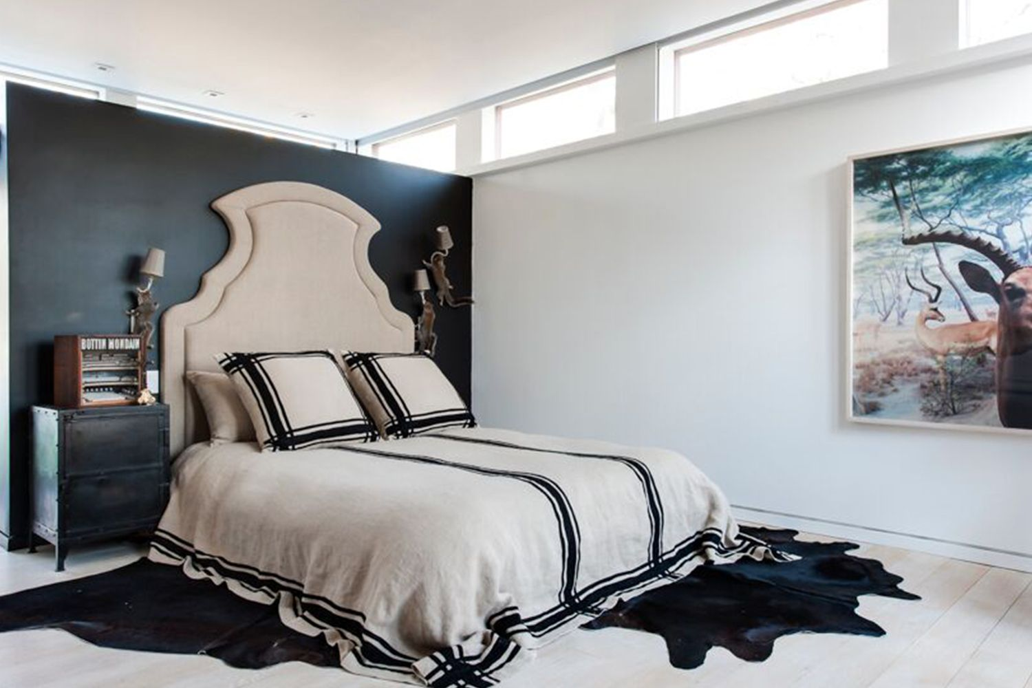 36 Black Amp White Bedrooms Photos And Ideas For Bedrooms
