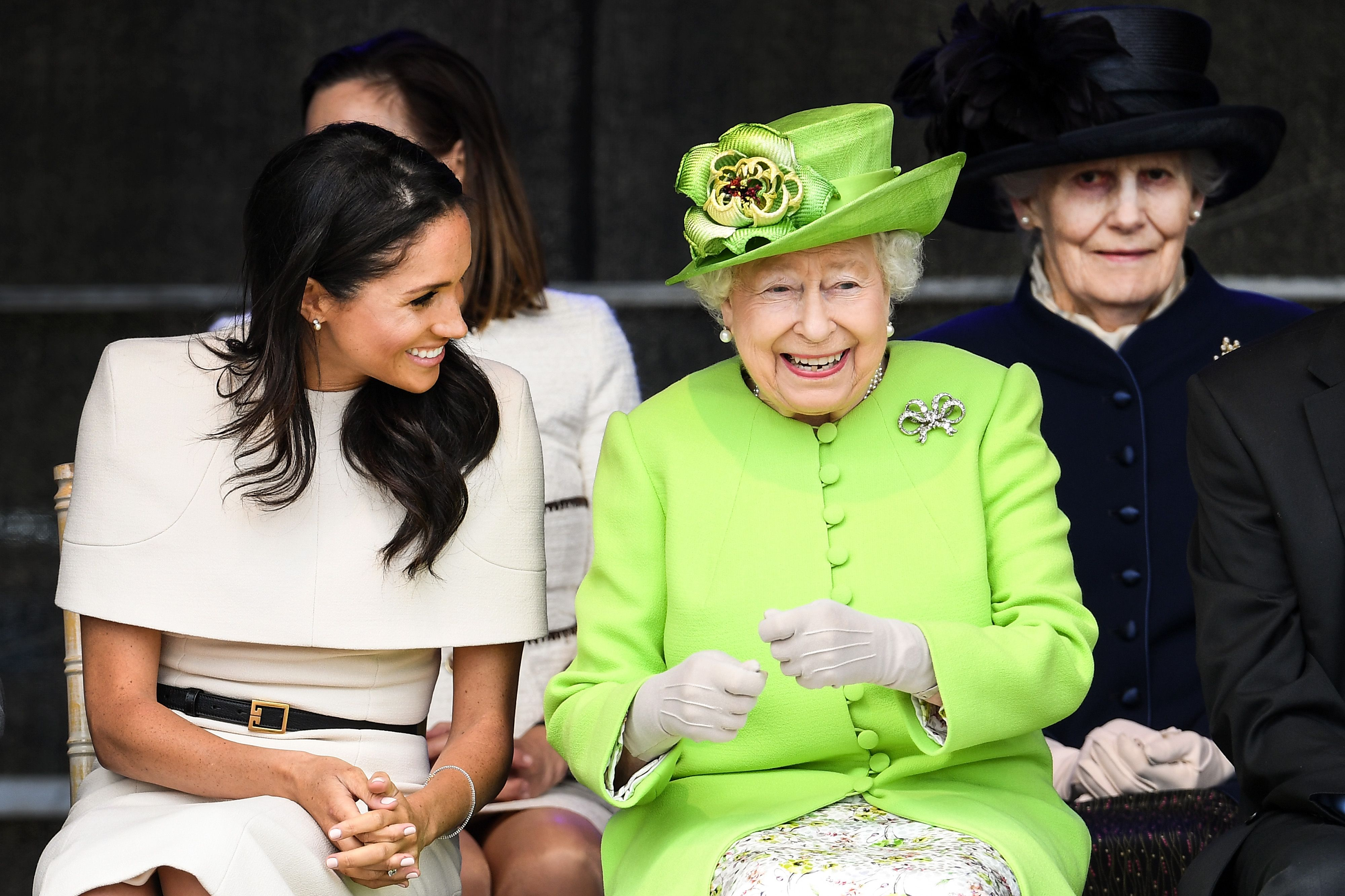 Meghan Markle Is at Ease With Queen Elizabeth  Meghan