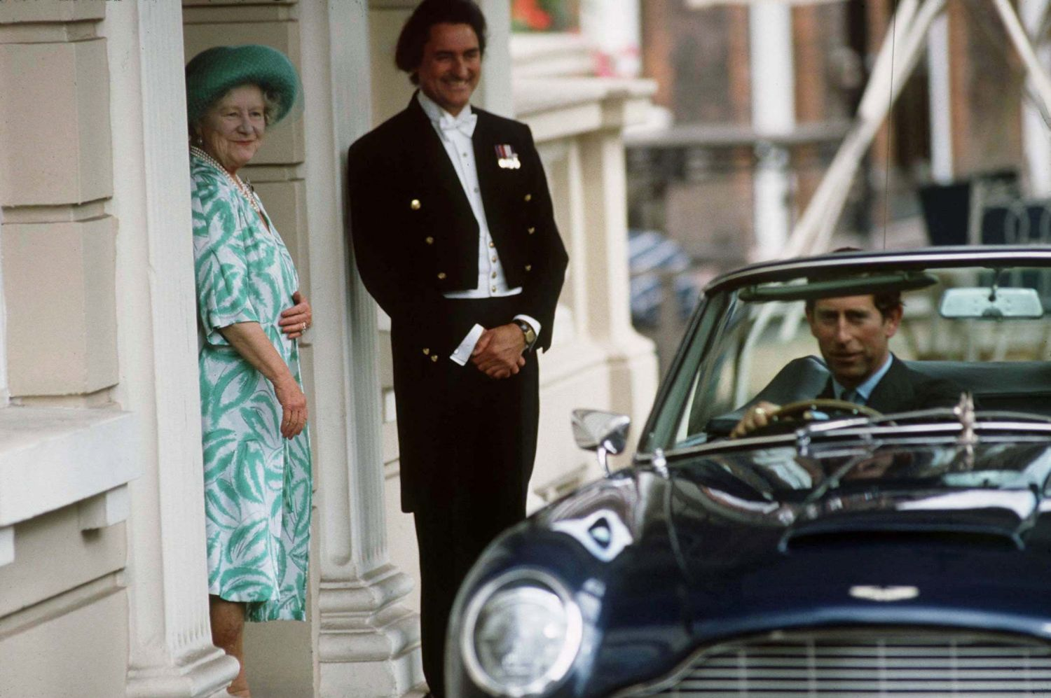 Queen Mother And Charles Clarence House