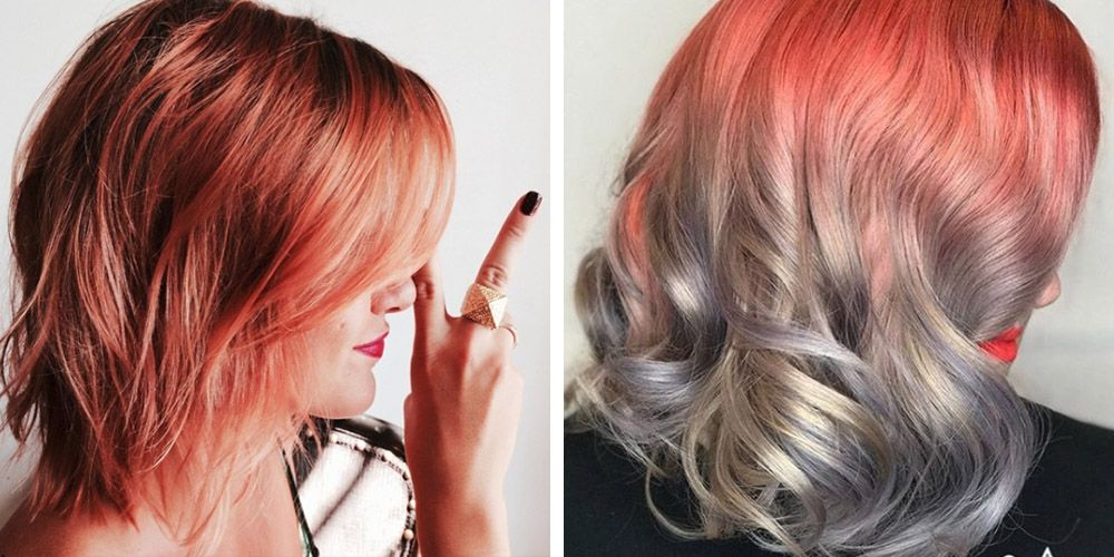 12 Cool Ombr Color Ideas for Red Hair  Red Ombr Hairstyles