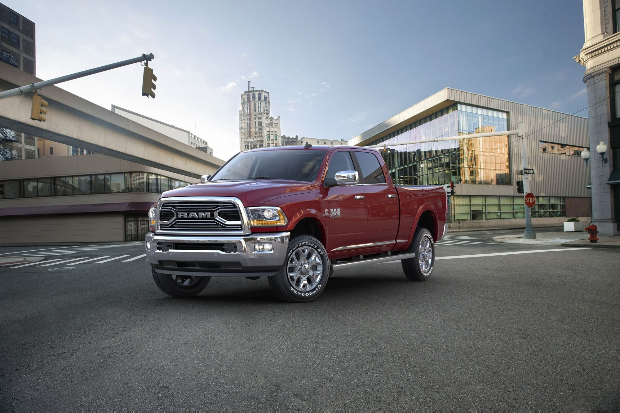 hight resolution of ram hd trucks in recall for steering problem that could cause crashes