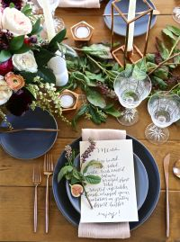 Bridal Shower Ideas - Dinner Party Bridal Shower