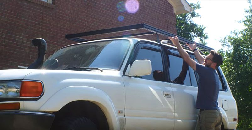 diy roof rack how to build a roof rack