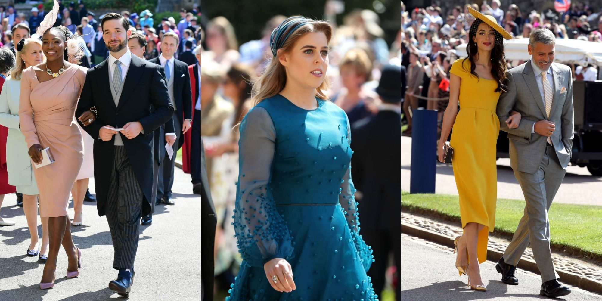 Royal Wedding 2018 Celebrity Guest List Famous Guests At
