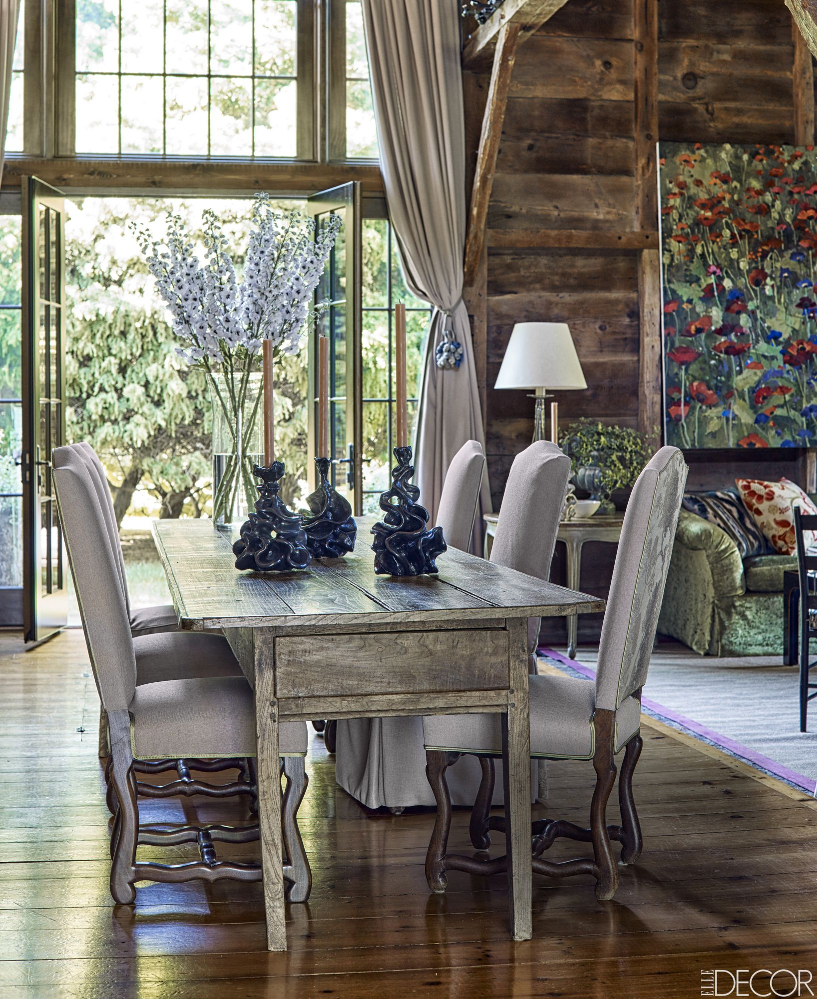 Rustic Farmhouse Dining Room Ideas