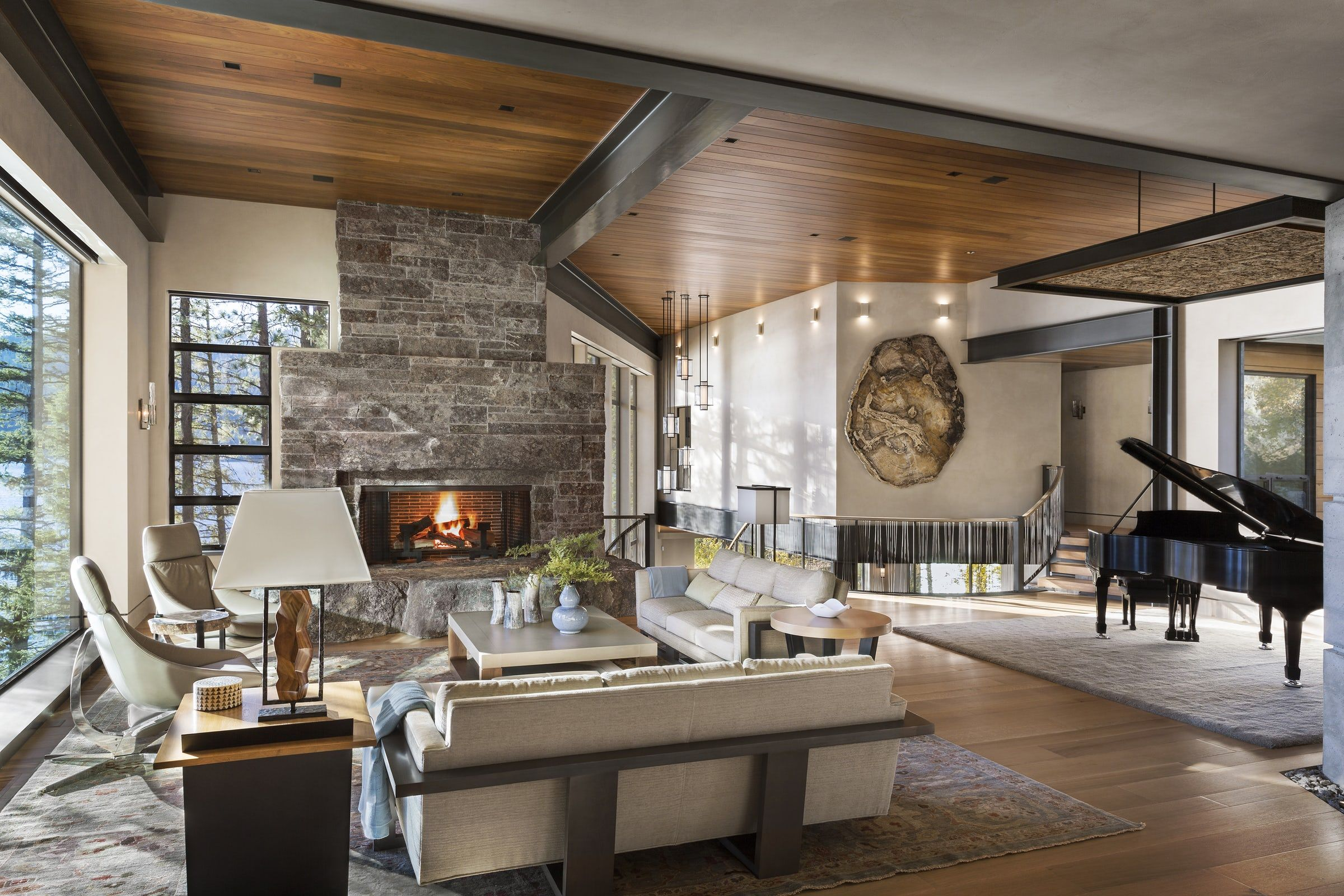 35 Best Rustic Living Room Ideas Rustic Decor For Living Rooms