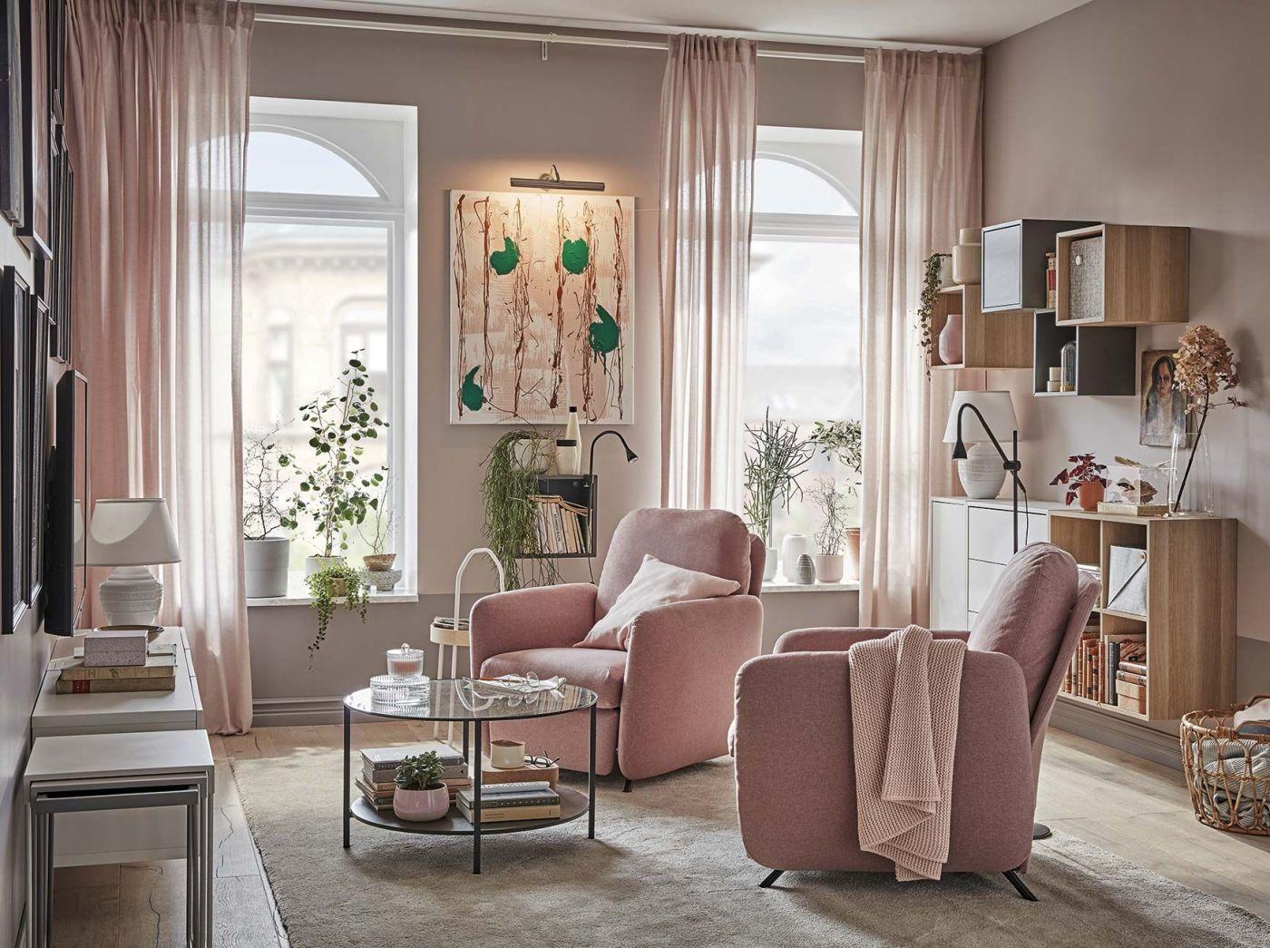Salón rosa de Ieea