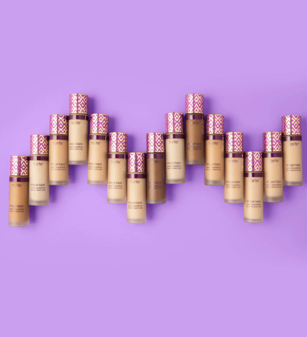 Tarte is Releasing Ten New Shape Tape Foundation Shades