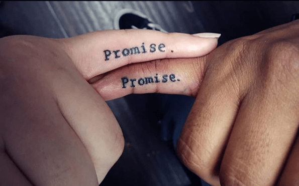 Relationship Small Matching Tattoos