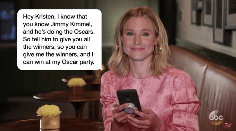Jimmy Kimmel Live Celebrities Read Mother's Day Texts
