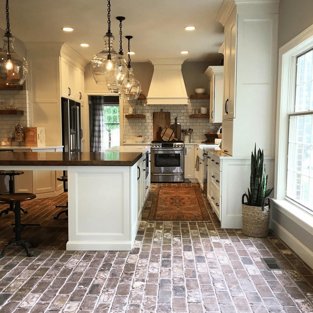 brick floor kitchen yellow mat things to know before installing floors 7 you should