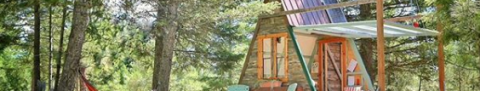 Cheap Tiny House This Tiny A Frame Cabin Cost Just 700