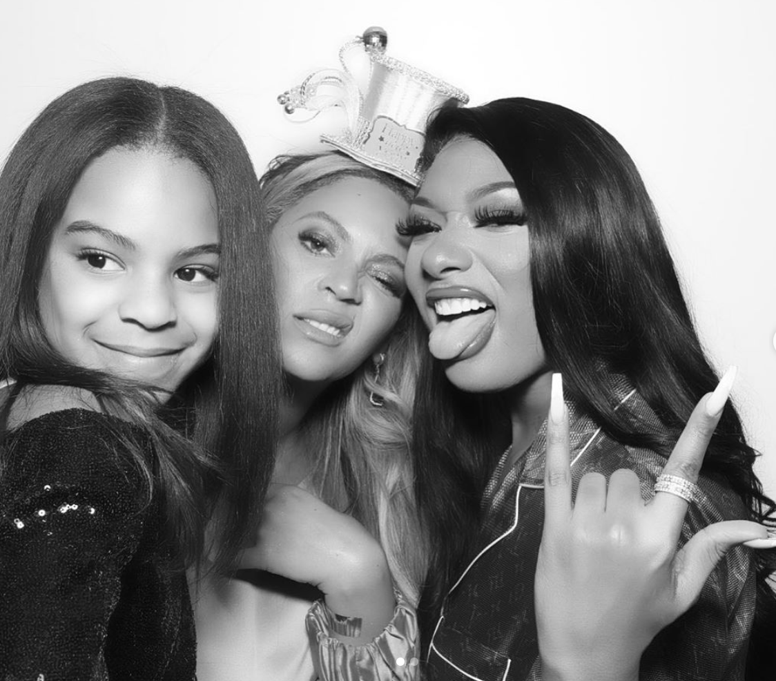 beyonce and blue ivy are twins in a new