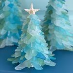 These Sea Glass Christmas Trees Will Transform Your Home Into A Coastal Paradise For The Holidays
