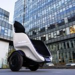 Segway S New Egg Shaped S Pod Scooter Has A Seat Can Go 24 Mph