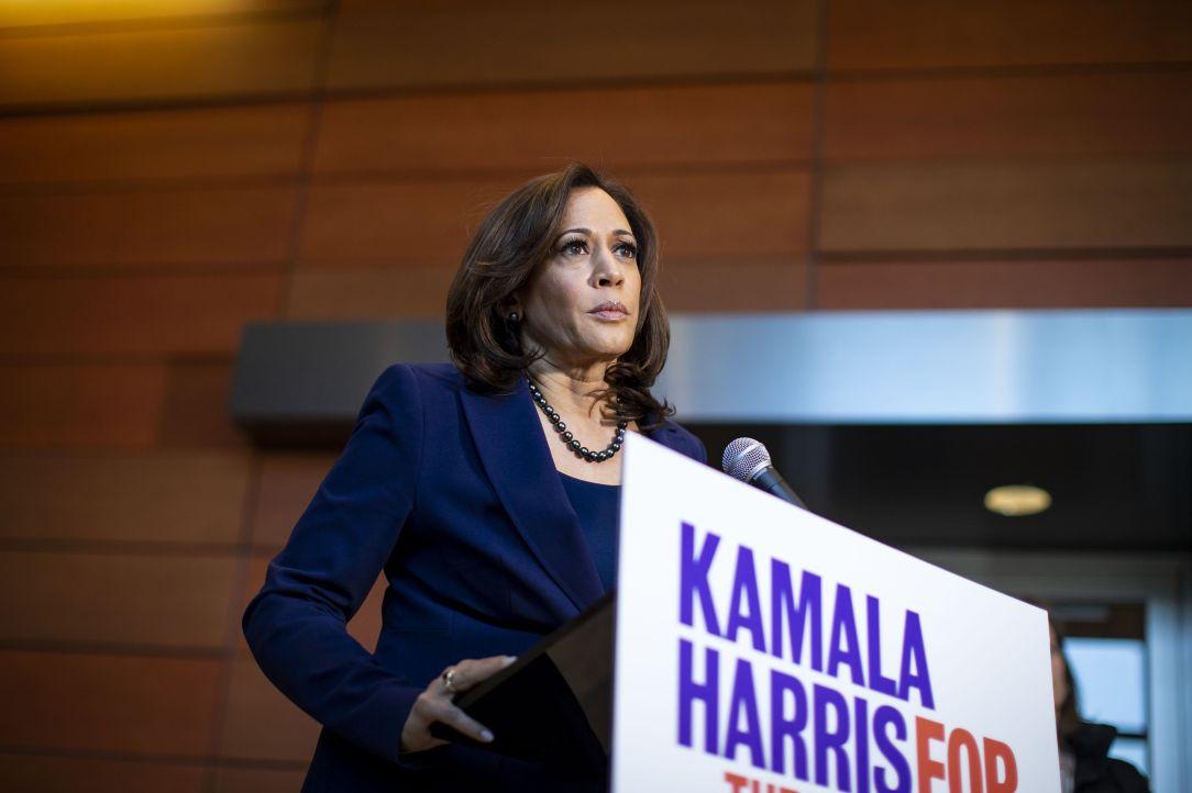 Sen. Kamala Harris Speaks At Her Alma Mater Howard University