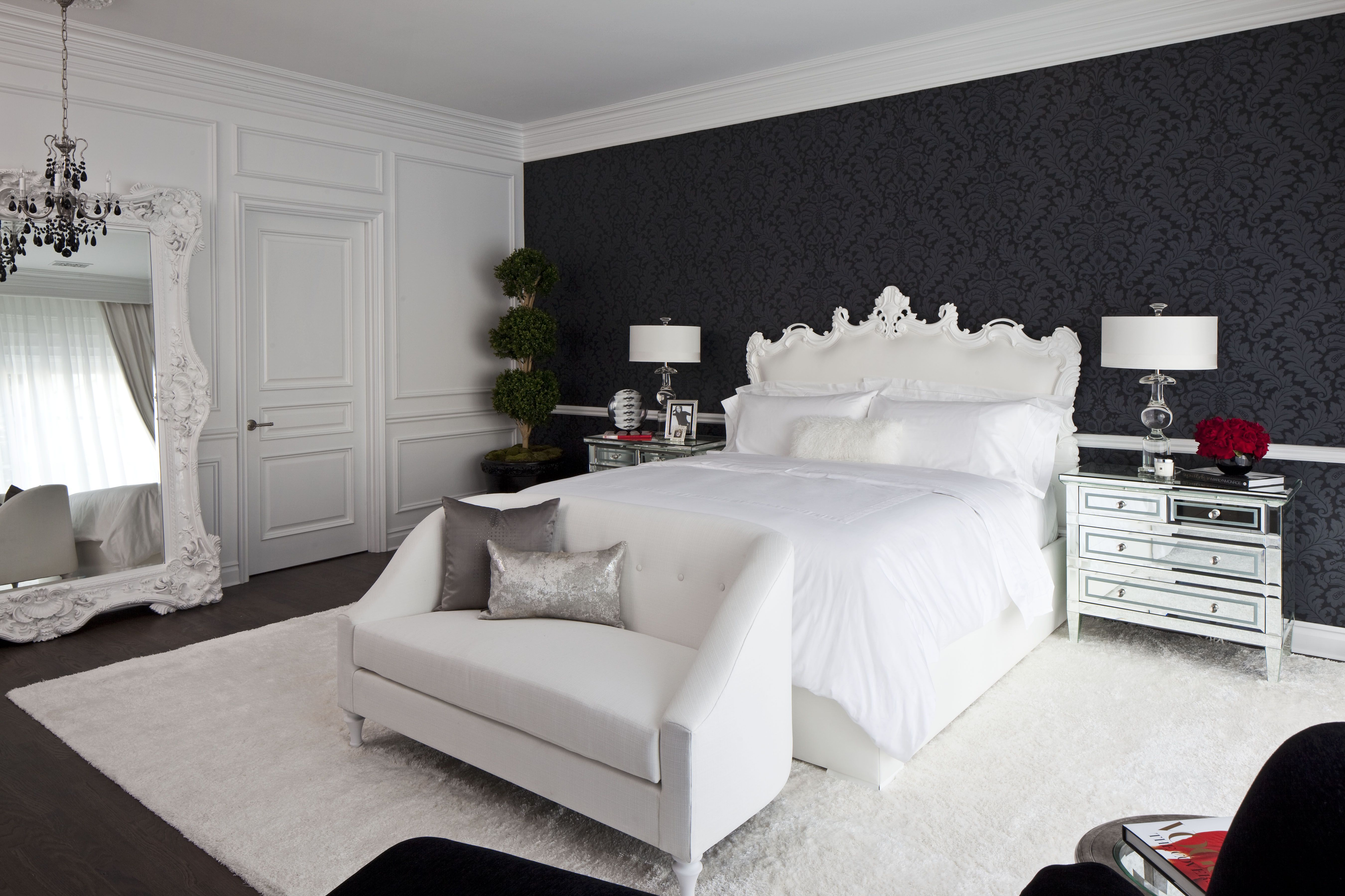 36 Black White Bedrooms Photos And Ideas For Bedrooms With Black White Decor