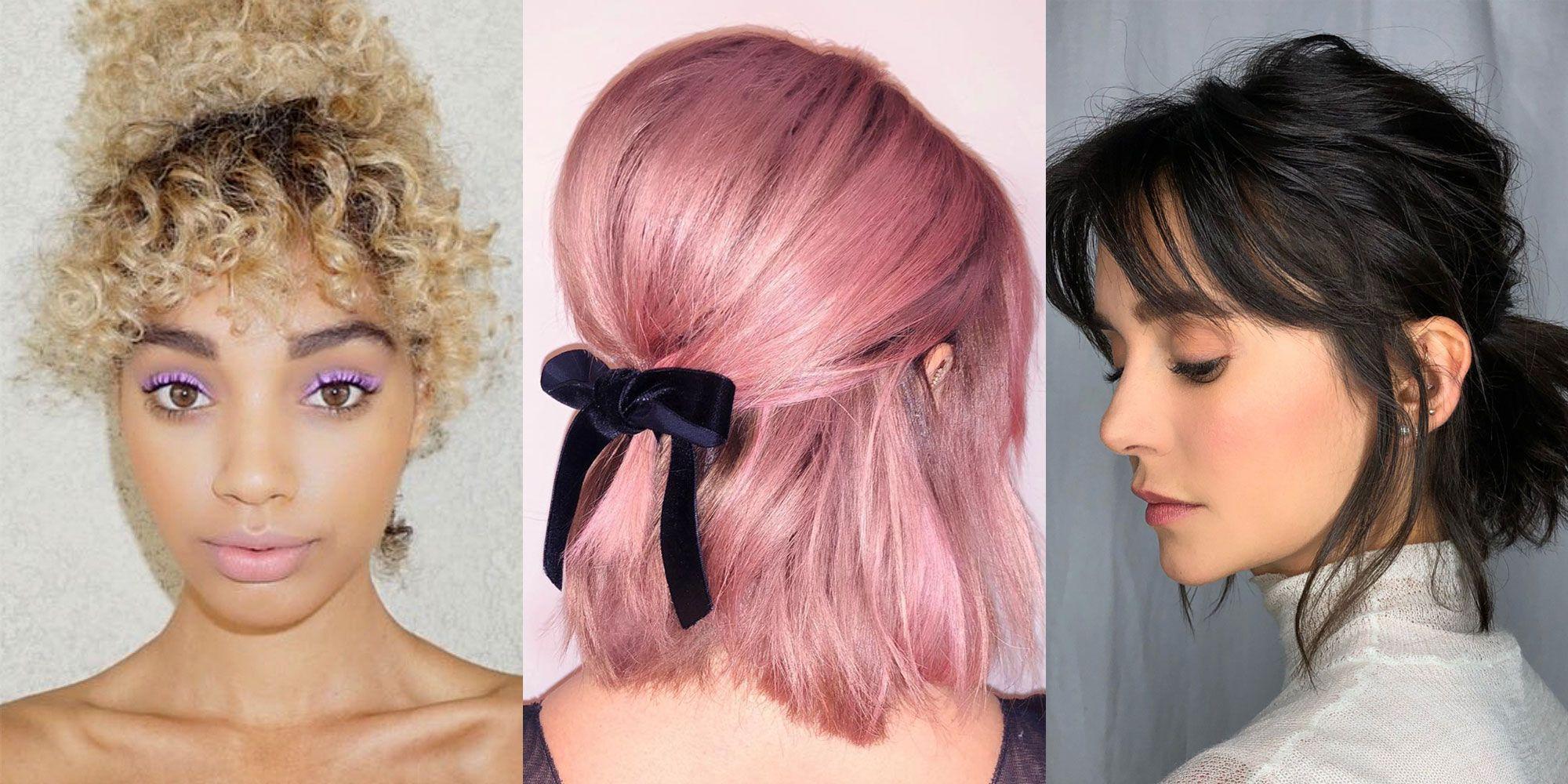 11 short hair ponytail
