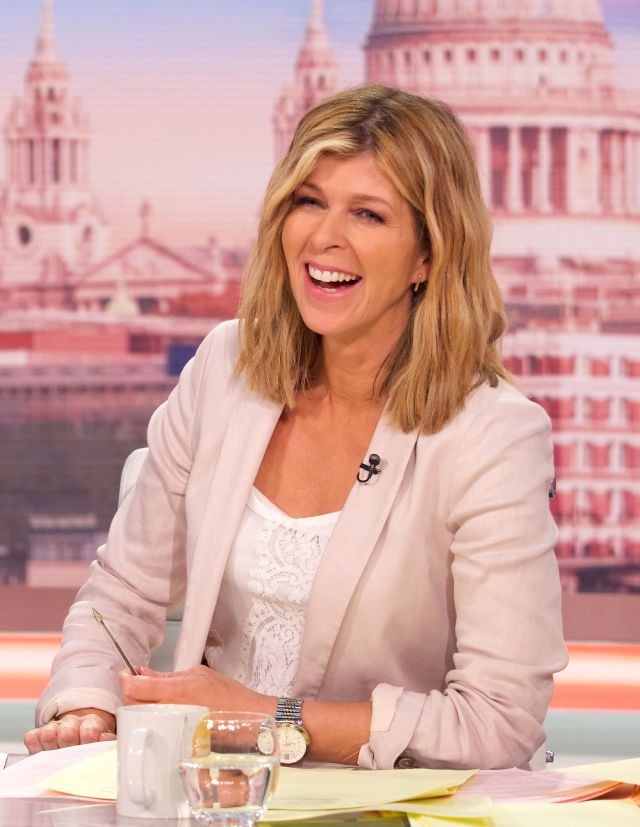 kate garraway tries new hairstyle for good morning britain