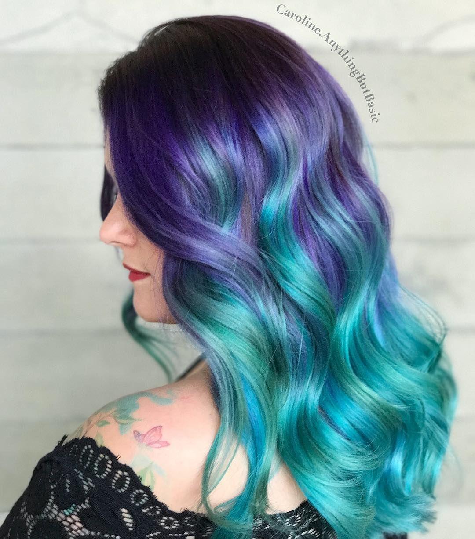 12 Mermaid Hair Color Ideas Amazing Mermaid Hairstyles