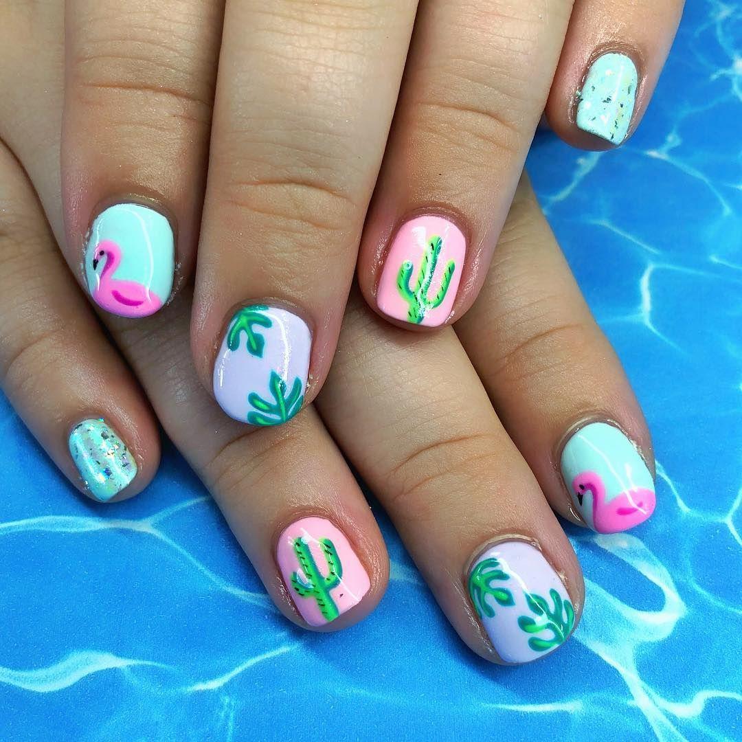 summer nail art 2019