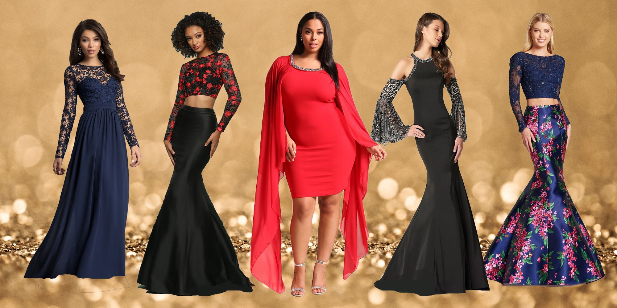 11 Most Elegant Long Sleeve Prom Dresses Of 2018 For A