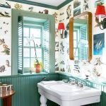 18 Small Bathroom Paint Colors We Love Colorful Powder Rooms