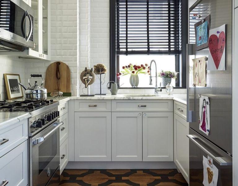 small kitchen design ideas 55 Small Kitchen Design Ideas - Decorating Tiny Kitchens