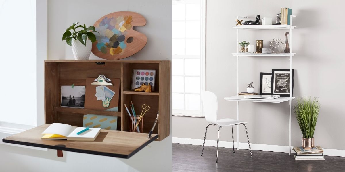 23 stylish desks that will actually fit in your tiny apartment