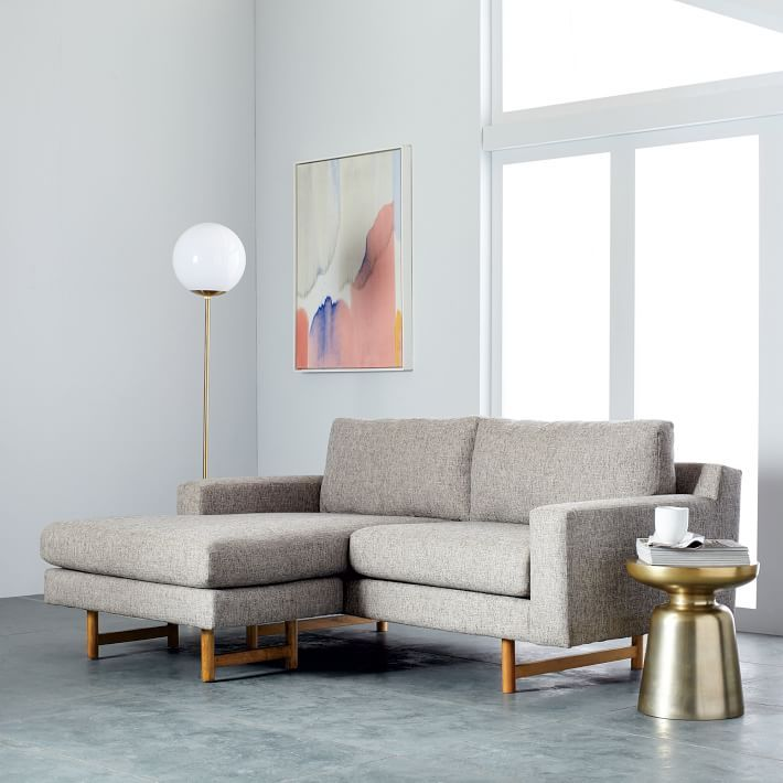 these sofas are proof you can have a sectional even if you live in a small space