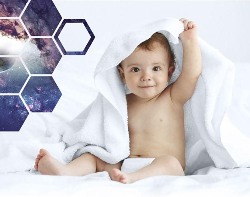 Primer bebé humano fuera del planeta