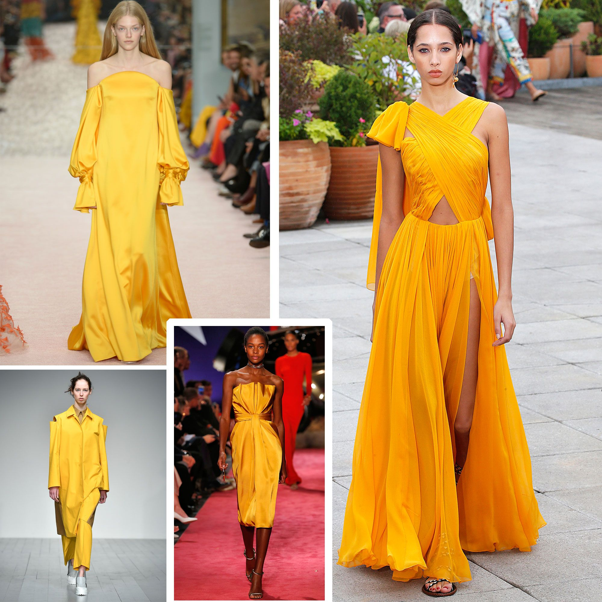 Spring/summer fashion trends 2019: Yellow