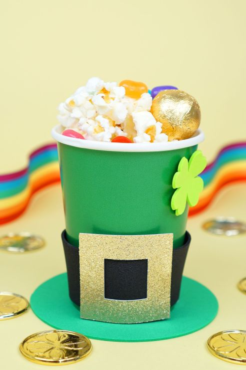 st patricks day decorations treat cup