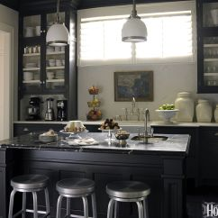 Kitchen Black Cabinets Moen Two Handle Faucet 10 Cabinet Ideas Cabinetry And Cupboards