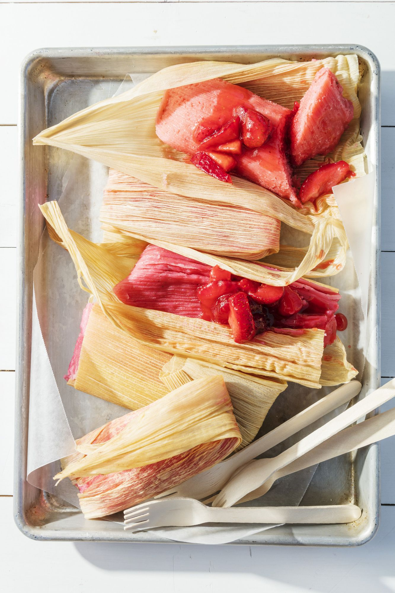 Best Strawberry Tamales Recipe  How to Make Strawberry